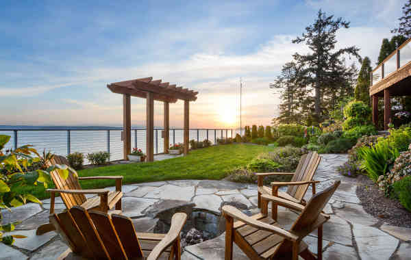 Stunning Spaces: Priest Point Waterfront Home