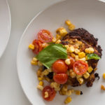 Recipe Renovations: Crab Cakes with Corn Tomato Salsa